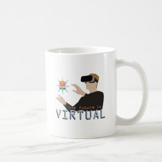 The Future Is Virtual Coffee Mug