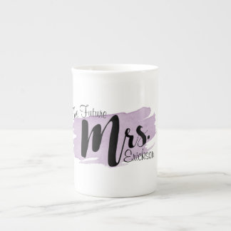 The Future Mrs. Purple Watercolor Mug
