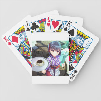 The Future Of Maid Cafe : Irasshaimase! Bicycle Playing Cards