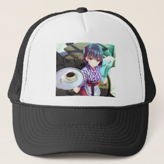 The Future Of Maid Cafe : Irasshaimase! Trucker Hat