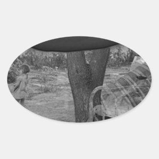 The Future Oval Sticker