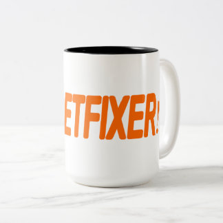 The Gadgetfixer Handyman Two-Tone Coffee Mug