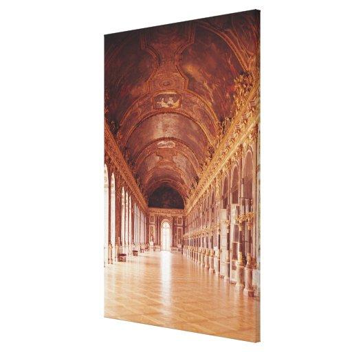 The Galerie des Glaces  1678-84 Canvas Prints