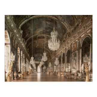 The Galerie des Glaces  1678-84 Postcard