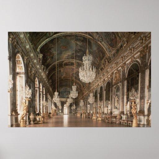 The Galerie des Glaces  1678-84 Print