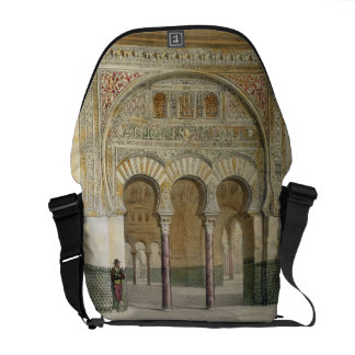 The Gallery of the Court of Lions at the Alhambra, Courier Bag