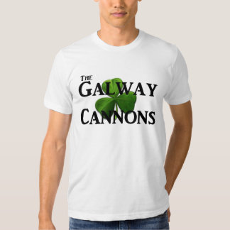The Galway Cannons Logo Tee Shirts