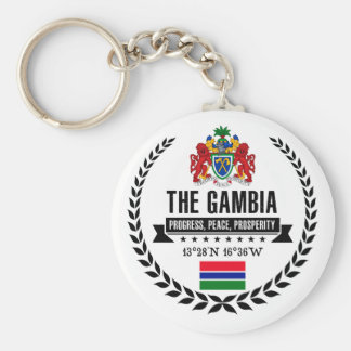 The Gambia Keychain