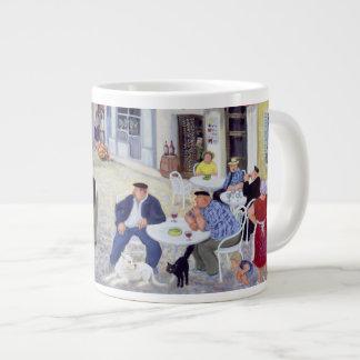 The Game Burgundy Large Coffee Mug