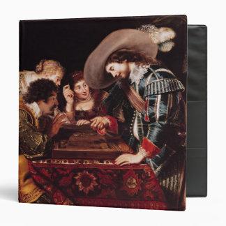 The Game of Backgammon Vinyl Binders