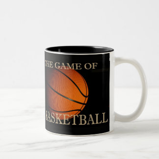 The Game of Basketball Two-Tone Coffee Mug