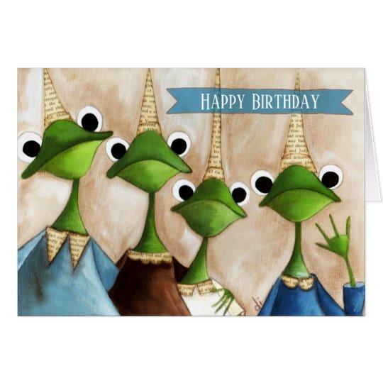The Gang - Birthday Card
