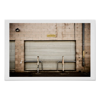 The Garage Door Poster