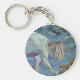 'The Garden (after the rain)' Key Chain