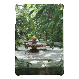 The Garden Fountain iPad Mini Cover