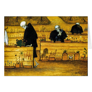 The Garden of Death by Hugo Simberg 1896 Card