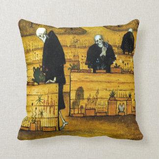 The Garden of Death by Hugo Simberg 1896 Throw Pillow