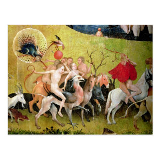 The Garden of Earthly Delights: Allegory of Postcard