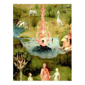 The Garden of Earthly Delights Postcard