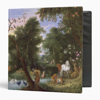The Garden of Eden, 1659 3 Ring Binder