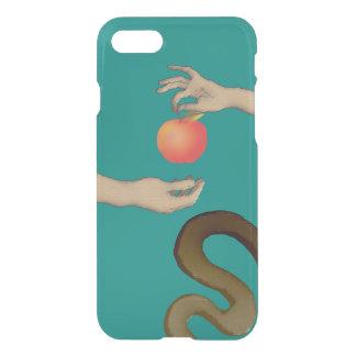The Garden Of Eden Apple Adam Eve Snake Blue Hands iPhone 7 Case