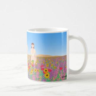 the garden of eden classic white coffee mug