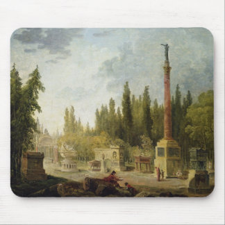 The Garden of the Musee des Monuments Francais Mouse Pad