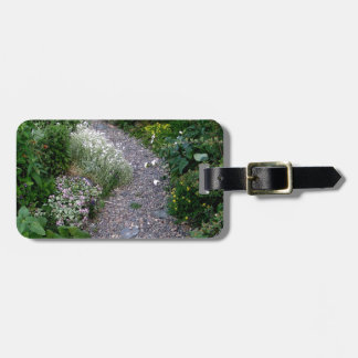 The Garden Path Luggage Tag