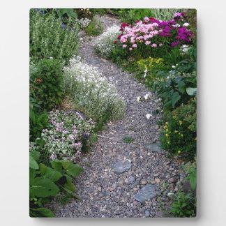 The Garden Path Plaque