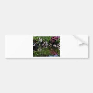 The Garden Pond Bumper Sticker