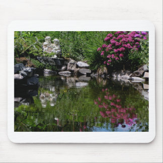 The Garden Pond Mouse Pad