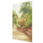 The Garden Steps Canvas Print