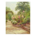 The Garden Steps Postcard