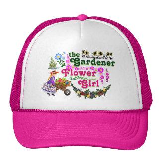 The Gardener Flower Girl Trucker Hat! Trucker Hat