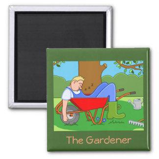 The Gardener Magnet