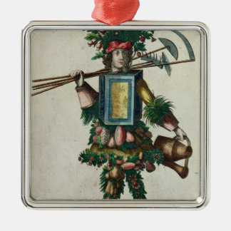 The Gardener's Costume Metal Ornament