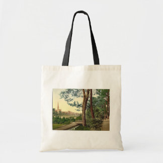 The Gardens II, Bournemouth, England vintage Photo Tote Bag