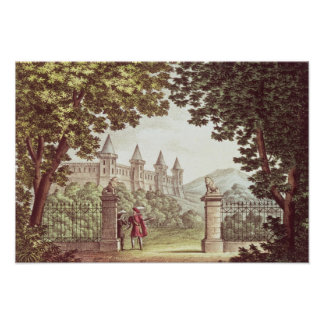 The Gardens of Windsor Castle Poster