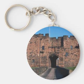 The Gate House, Carlisle Castle, Cumbria, U.K. Keychain