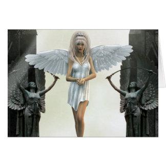The Gate Keeper Angel Fantasy Card