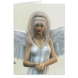 The Gate Keeper Angel Fantasy Card
