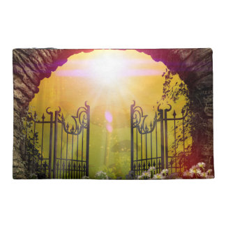 The gate to the land of dreams travel accessory bag