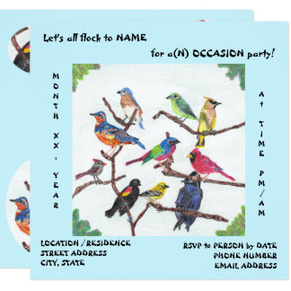 The Gathering Special Occasion Invitations