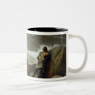 The Gaulish Coastguards, 1888 Two-Tone Coffee Mug