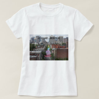 The gay village and the street Holy-Catherine T-Shirt