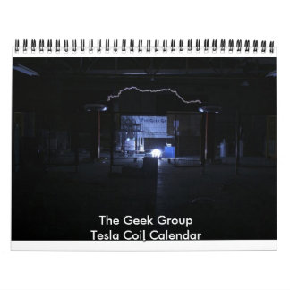 The Geek Group Tesla Coil Calendar
