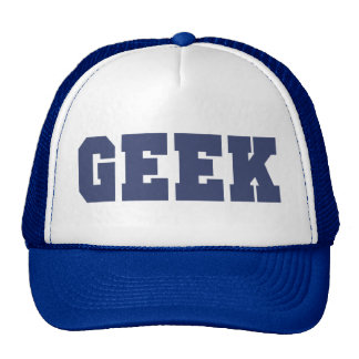 The Geek Trucker Cap Trucker Hat