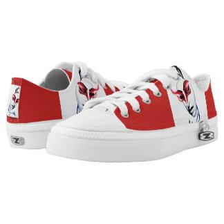 The Geisha/kabuki shoes