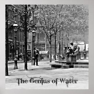 The Genius of Water 1906 Print