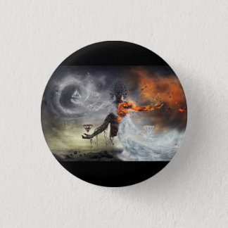 The GENTLEMAN OF the ELEMENTS 1 Inch Round Button